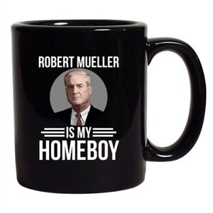 It/'s Robert Mueller Time USA Support Political DT Coffee 11 Oz White Mug