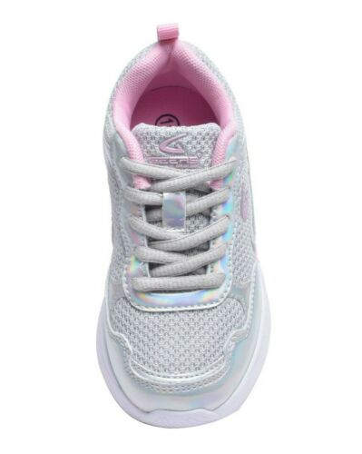 Girls Sneakers Tennis Shoes Metallic Toddler Youth Kids Casual Running Sport New