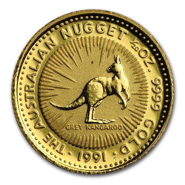 1 20 Oz Australian Gold Kangaroo Nugget Random Year