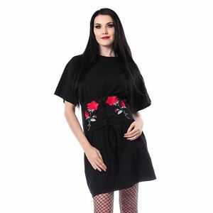 Black Punk Vixxsin Ladies Emo Top Eveliina Goth TwSSBqxPWU