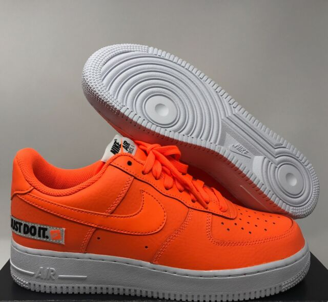 Nike Air Force 1 Low Just Do It Pack Premium Af1 JDI Orange Size 12 Bq5360 800