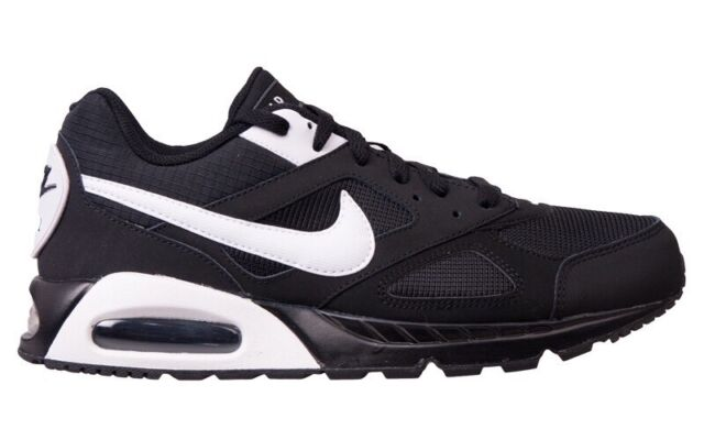 Nike Air Max IVO Leather Shoe Schuhe schwarz Laufen