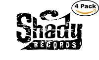 Eminem Shady Music Records Decal Diecut Sticker 4 Stickers