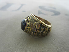 US Army 101st Airborne Division USMC Marines Navy NAM Insignia Ring PX Sterling