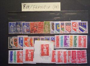 FRANCIA-BUON-LOTTO-DI-N-38-FRANCOBOLLI-VARIE-SERIE-AFFARONE-F18