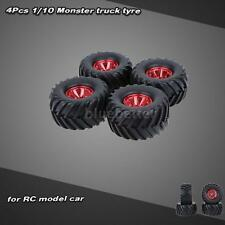 4Pcs/Set 1/10 Monster Truck Tire Tyres for HSP HPI Kyosho RC Car Hot RM76