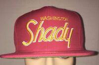 Eminem Slim Shady X Mitchell And Ness City Snapback Hat Washington Shady