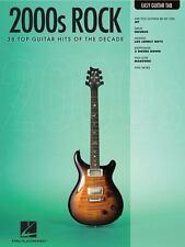 2000S ROCK EASY GUITAR TAB   EASY GUITAR DECADE SERIES by Hal Leonard Corp.