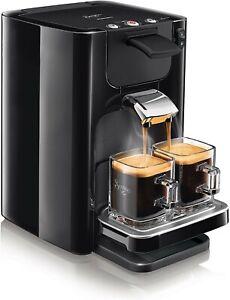Cafetière Philips Machine à Café à Dosettes Souples SENSEO Quadrante Neuf NOIR