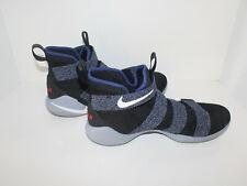 c70d16fc68fe item 3 Nike LeBron Soldier 11 XI Black Gray Blue 897644-005 Mens SZ 12 -Nike  LeBron Soldier 11 XI Black Gray Blue 897644-005 Mens SZ 12