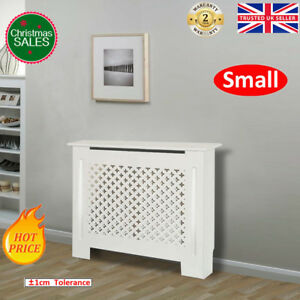 Radiator Covers MDF WhiteMatte Painted Cross Bars Modern Heating Cooling Cabinet 667016797616