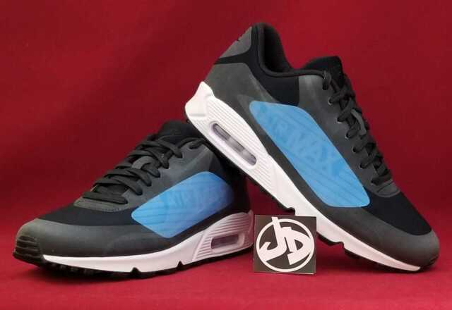 cheap for discount 70902 32bfa coupon code for nike air max 90 ns gpx black laser blue running shoes  aj7182 002