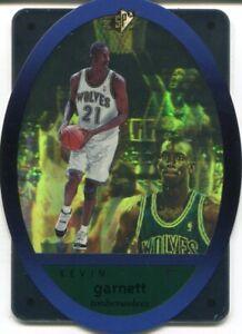 Kevin-Garnett-1996-Upper-Deck-SPx-Die-Cut-Rookie-Card