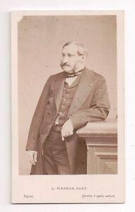 Vintage-CDV-Adolphe-de-Forcade-La-Roquette-L-Pierson-Photo