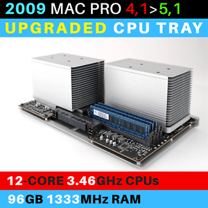 2009-Mac-Pro-4-1-gt-5-1-CPU-Tray-with-12-Core-3-46GHz-Xeon-and-96GB-RAM