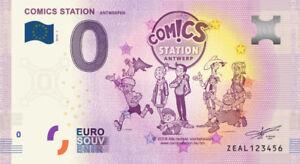 Billet-Touristique-0-Euro-Antwerpen-Comics-station-2018-1