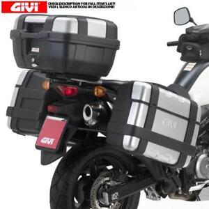GIVI-BAULETTO-TRK52-E-VALIGIE-TRK46-TRK33-SUZUKI-650-DL-V-Strom-2011-2015
