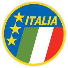 "Italy Italia National Football Association sticker decal 4"" x 4"""