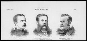 1879-Antique-Print-PORTRAITS-Capt-Bradstreet-Frank-Barclay-F-Nicolson-071
