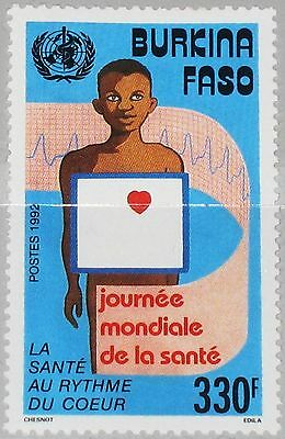 Burkina Faso 1992 1269 943 World Health Day Weltgesundheitstag Medicine Mnh Briefmarken Afrika