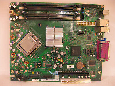 OEM Dell Motherboard WF810 WK833 GX297 for OptiPlex 745 SFF Small Form Factor