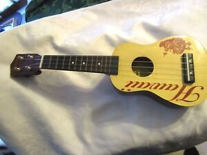"Authentic Leolani Playable Toy Ukulele Hawaii 18"" tall - HYMLOT"