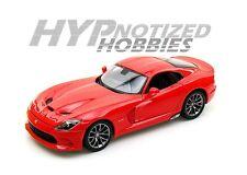 MAISTO 1:18 DODGE VIPER SRT GTS 2013 DIECAST RED 31128