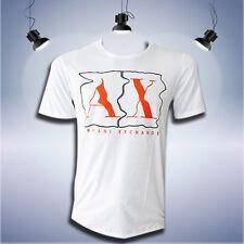 Armani Exchange Men's White  T-shirt short sleeve size L (3125)
