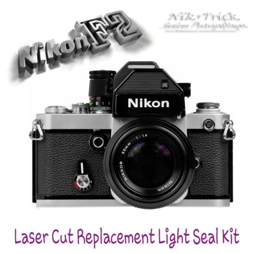 Enough for 3 Cameras! Nikon F2 ~ Replacement Light Seal Kit ~ Laser Cut