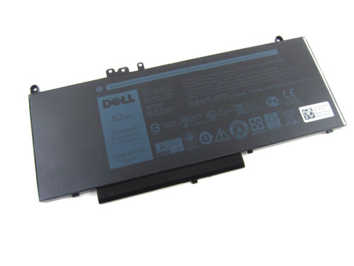 6MT4T K3JK9 New Genuine Dell Latitude E5570 E5470 62WH Laptop Battery