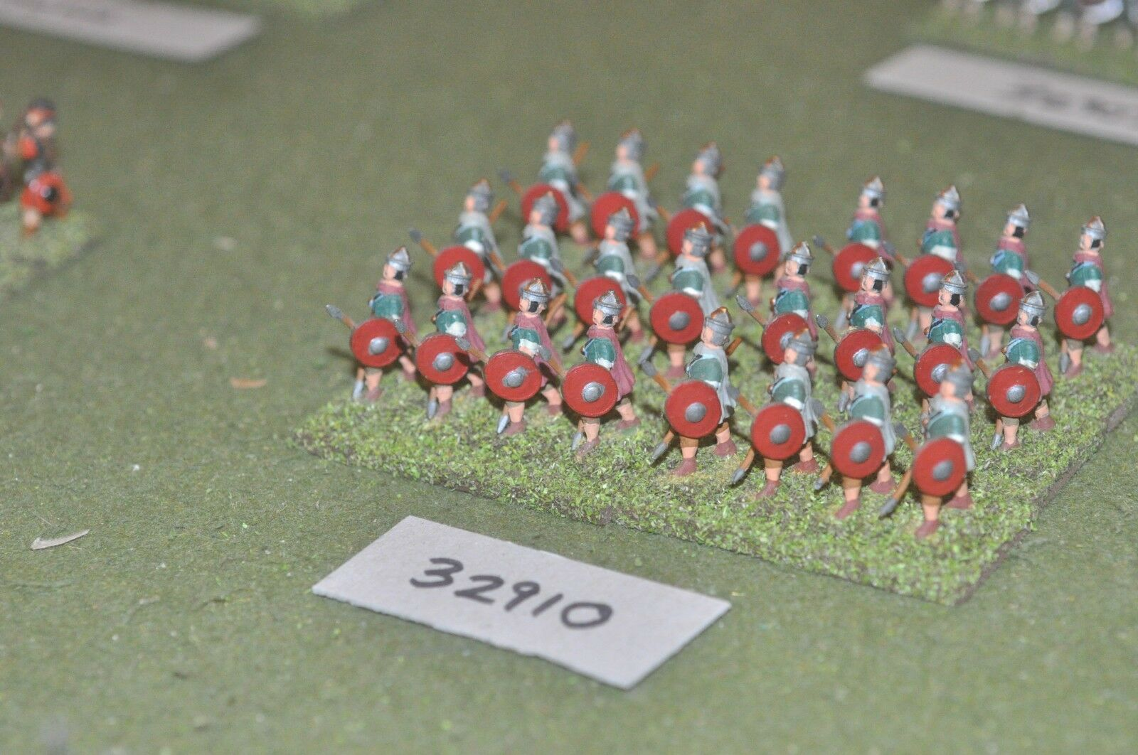 25mm época Romana Romana-auxiliares 24 figuras-INF (32910)
