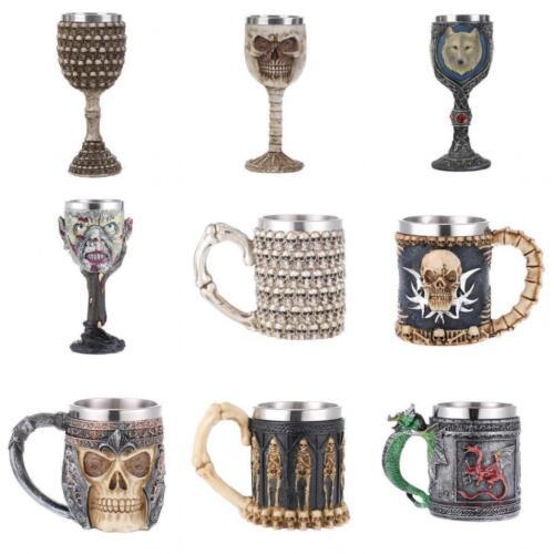3D Skull Beer Mug Coffee Tea Water Beverage Cup Drinkware Christmas Carnival