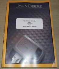 John Deere 120c Excavator Technical Service Shop Repair Manual Book Tm1935