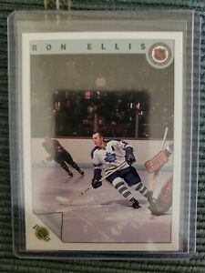 1992-93-Ultimate-Hockey-Co-TORONTO-TRIBUTE-Ron-Ellis-Toronto-Maple-Leafs-34