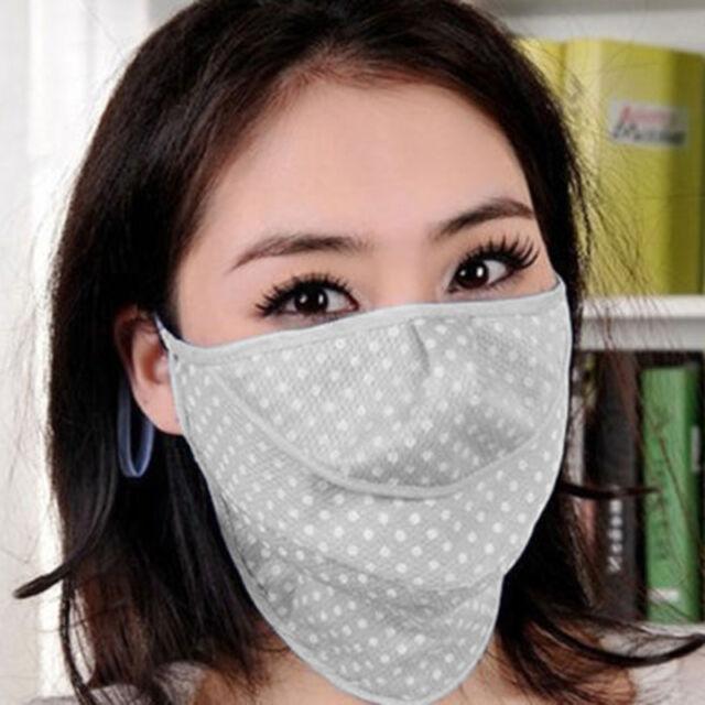 Summer UV-blocking Sun Block Mask Protection Neck Face Sport Wear Keep Whitening