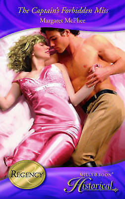 """""""AS NEW"""" McPhee, Margaret, The Captain's Forbidden Miss (Mills & Boon Special Re"""
