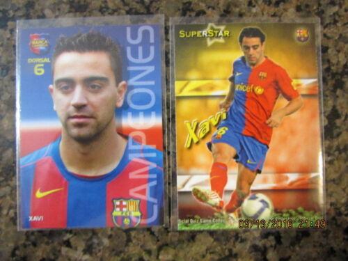 Xavi Soccer Cards*Barcelona*Spain* Various Years $1.00-$2.99