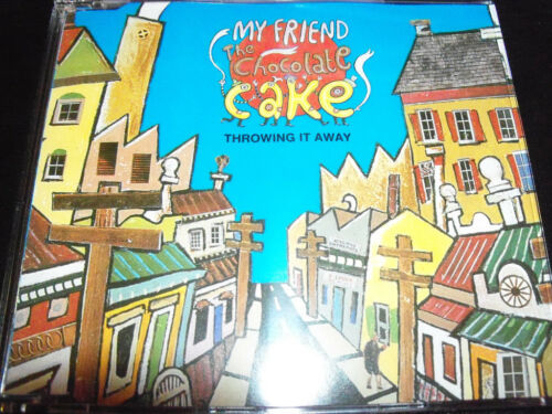1 of 1 - My Friend The Chocolate Cake Throwing It Away 5 Track CD Single - Like New