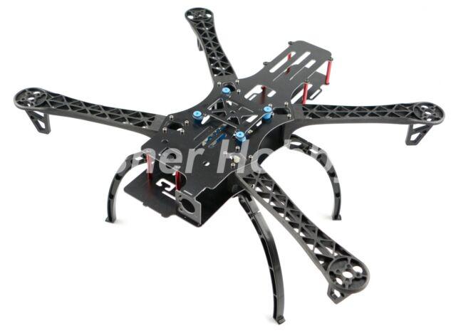FPV Quadcopter X500 500 500mm Quadcopter Frame & Landing Gear Skids ...