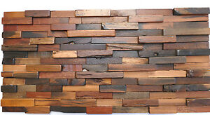 Exceptionnel Image Is Loading Wood Wall Tiles Rustic Vintage Tiles Wooden Wall