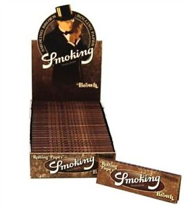 Smoking-Rolling-Paper-Brown-Unlbleached-1-1-4-Box-of-25-Booklets