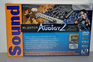 Sound Blaster Audigy 2 драйвер Windows 7