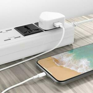 Speedy-Rapide-Double-1-Chargeur-USB-Port-3-Broche-GB-Secteur-Mur-Prise