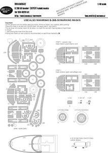 New Ware Mask NWAM0642 1//48 Douglas B-26B-50 Invader EXPERT ICM