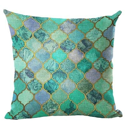 Bohemian Ethnic Style Cotton Linen Throw Pillow Cover Case Sofa Cushion Cover 18
