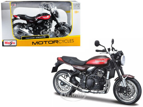 KAWASAKI Z900RS BROWN 1//12 DIECAST MOTORCYCLE MODEL BY MAISTO 18990