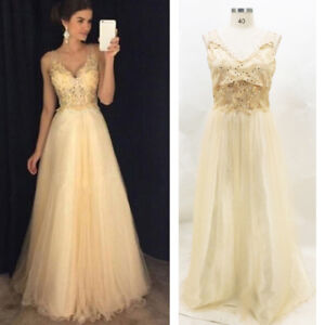 Image is loading Women-Formal-Wedding-Bridesmaid-Evening-Party-Ball-Prom- 8afe3e055e5a