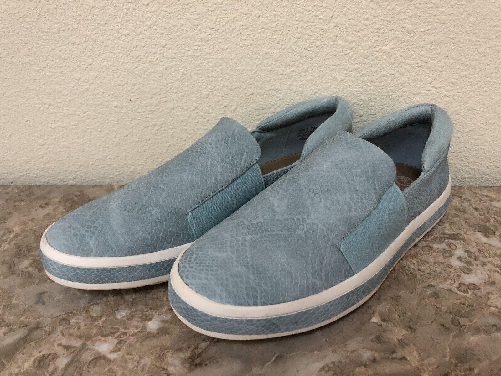 New BELLA VITA WOMEN'S bluee shoes FLATS SLIP ON Sneakers Size 7M
