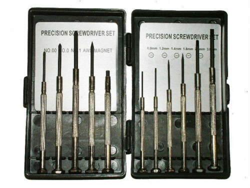 Precision Screwdriver Set 11 PC in foldable storage box