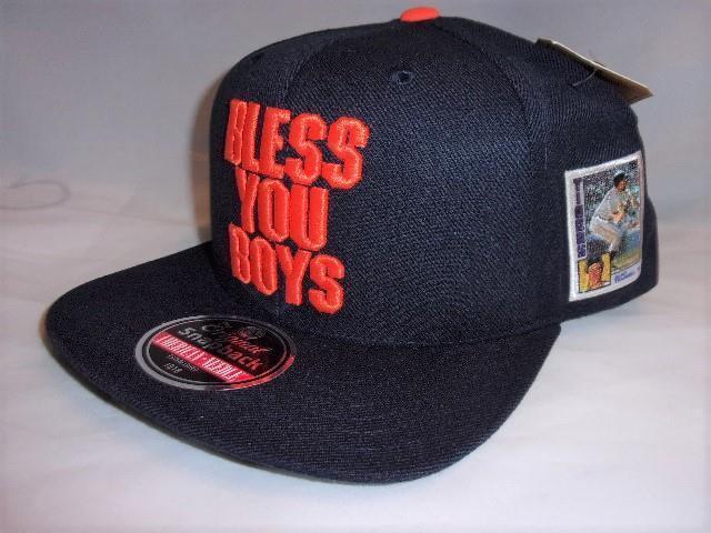 Rare Detroit Tigers Topps Allen Tramell HOF Bless You Boys Baseball Card Hat B07